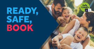 Ready, Safe, Book | 20% Off