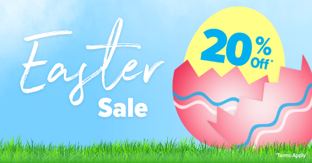 Easter Sale   20% Off
