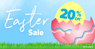 Easter Sale | 20% Off